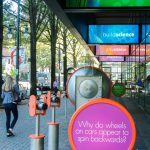 Outdoor Interactive Exhibition Made with King ColorBoard® KPG Orange