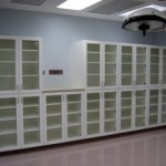 Clarion Hospital OR Cabinets in White/White