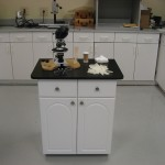 Testing Lab Case Goods and Countertop Made with King StarBoard® ST Upgraded to King MicroShield® White/White and Black