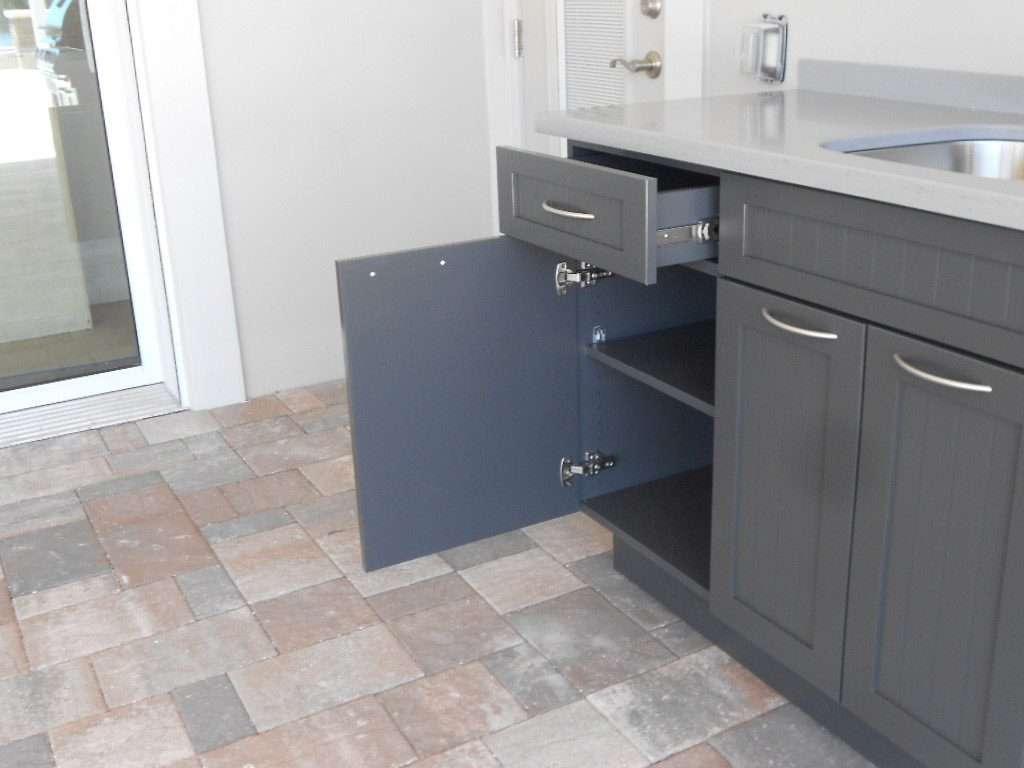 King DuraStyle® Custom Cabinet Door Program   Beaded Style Door And Drawer  In Charcoal Gray