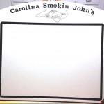 Carolina Smokin John's BBQ Cutting Board