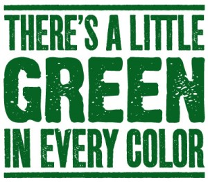 green in every color logo