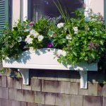 Window Planter Box Made with King StarBoard® ST White/White
