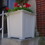 Planter Box Made with King StarBoard® ST White/White