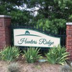 Hunters Ridge Community Entrance Sign King ColorCore®