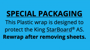 King StarBoard® AS Packaging