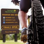 King ColorCore® Outdoor Trail Sign