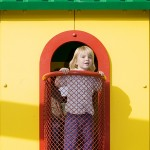 Amusement Park Playhouse Made with King ColorBoard® KPG Yellow and KPG Red