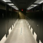 Land of the Living Voodoo Lounge Restroom Partitions Made with King Plasti-Bal® Ebony