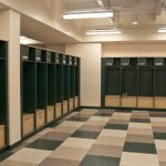Lockers Made with King Plasti-Bal® Emerald Blade Custom Color
