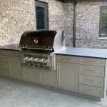 King DuraStyle® Custom Cabinet Door Program - Slate Gray Outdoor Kitchen