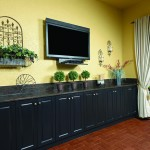 King DuraStyle® Custom Cabinet Door Program - Camden Style Door in Black