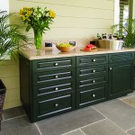 King DuraStyle® Custom Cabinet Door Program - Camden Style Door and Drawer in Evergreen