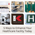 Graphics Showing Items Seen at Healthcare Facilities