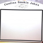 Carolina Smokin John's BBQ Cutting Board