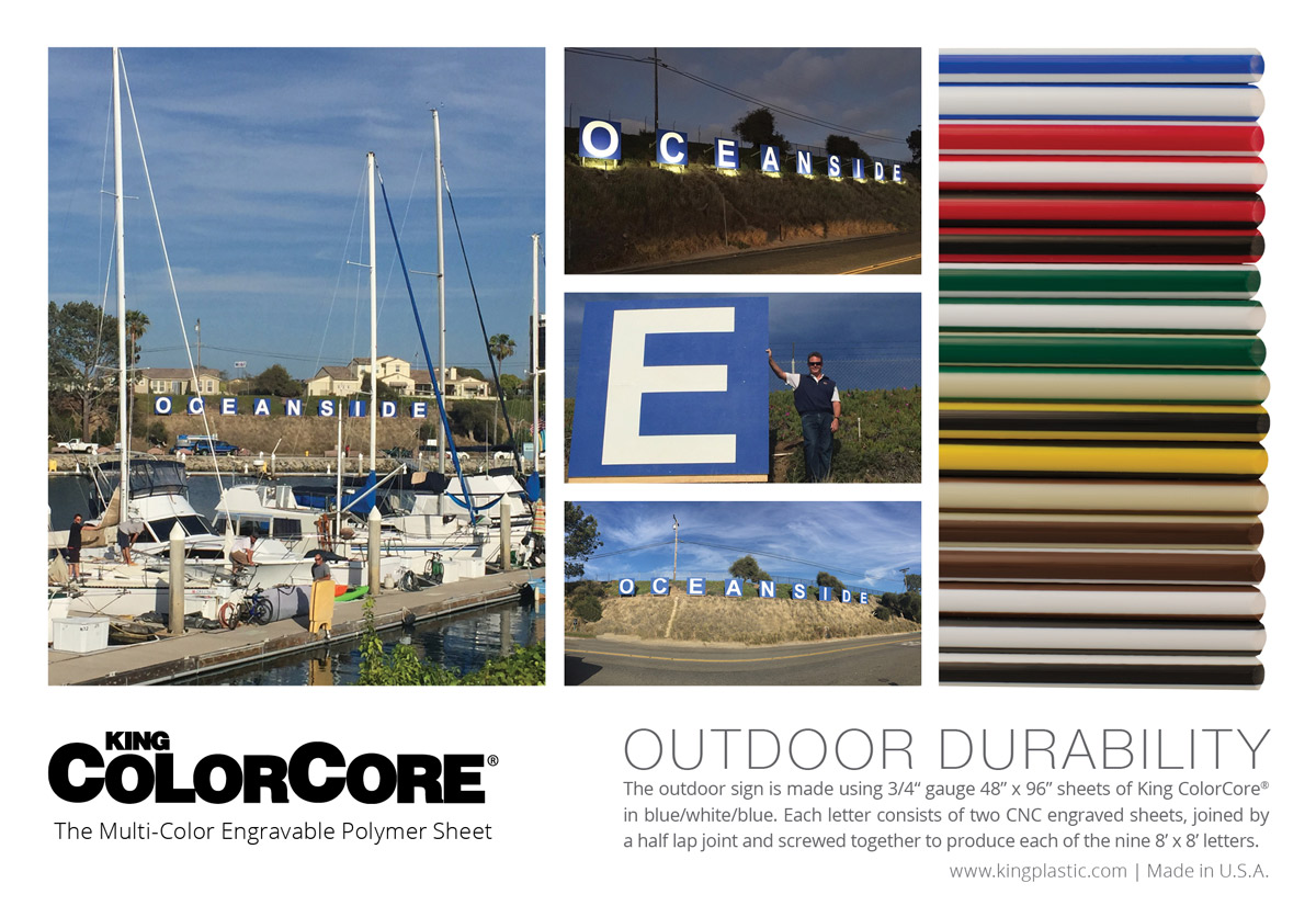 King ColorCore® - As Seen in Signs of the Times - Oceanside - Click to view larger image