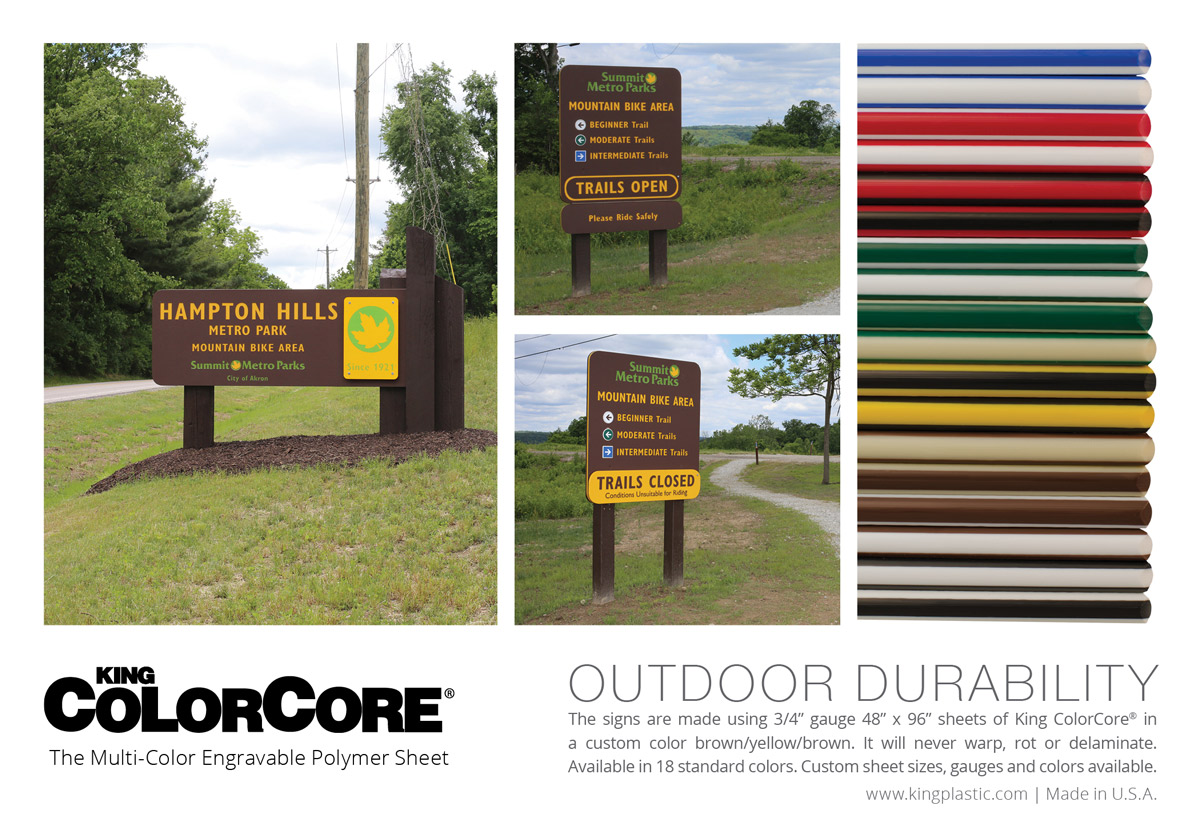 King ColorCore® - As Seen in Signs of the Times - Metro Summit Parks - Click to view larger