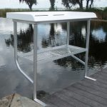 Photo of Fish Cleaning Table Attached to Dock - Click to View Larger Image