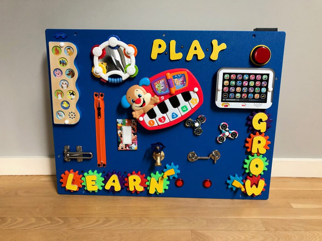 Wall-Mounted Playboards by Playtime Tech