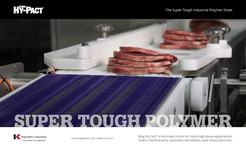 King Hy-Pact® Super Tough Polymer Ad