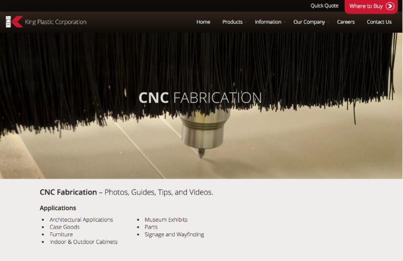 View Our CNC Fabrication Page