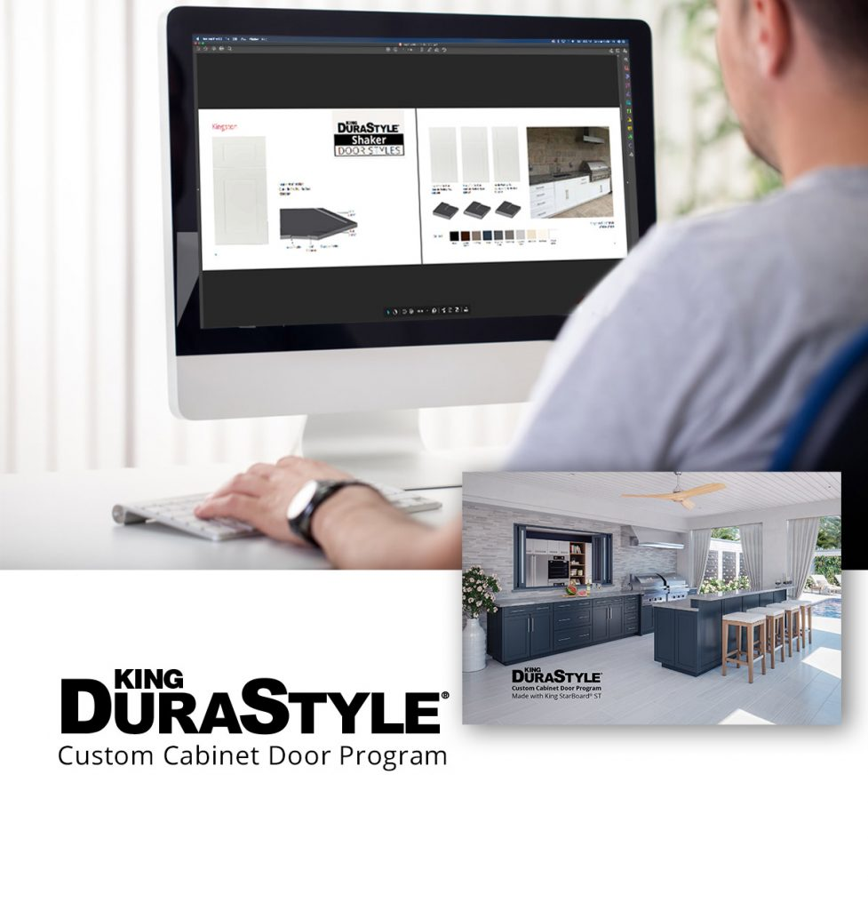 View Now King DuraStyle® Custom Cabinet Door Program Catalog