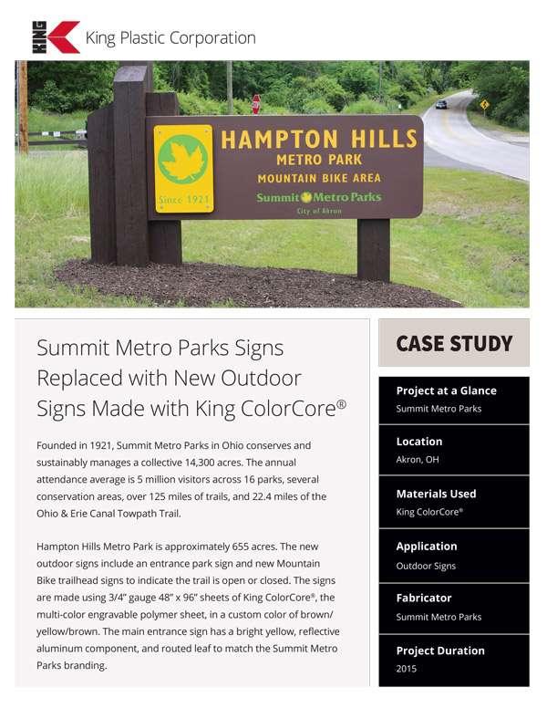 Summit Metro Parks Case Study