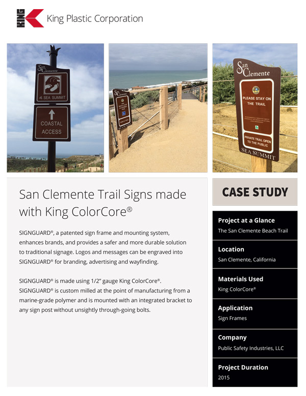 The San Clemente Beach Trail