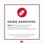 Using Adhesives
