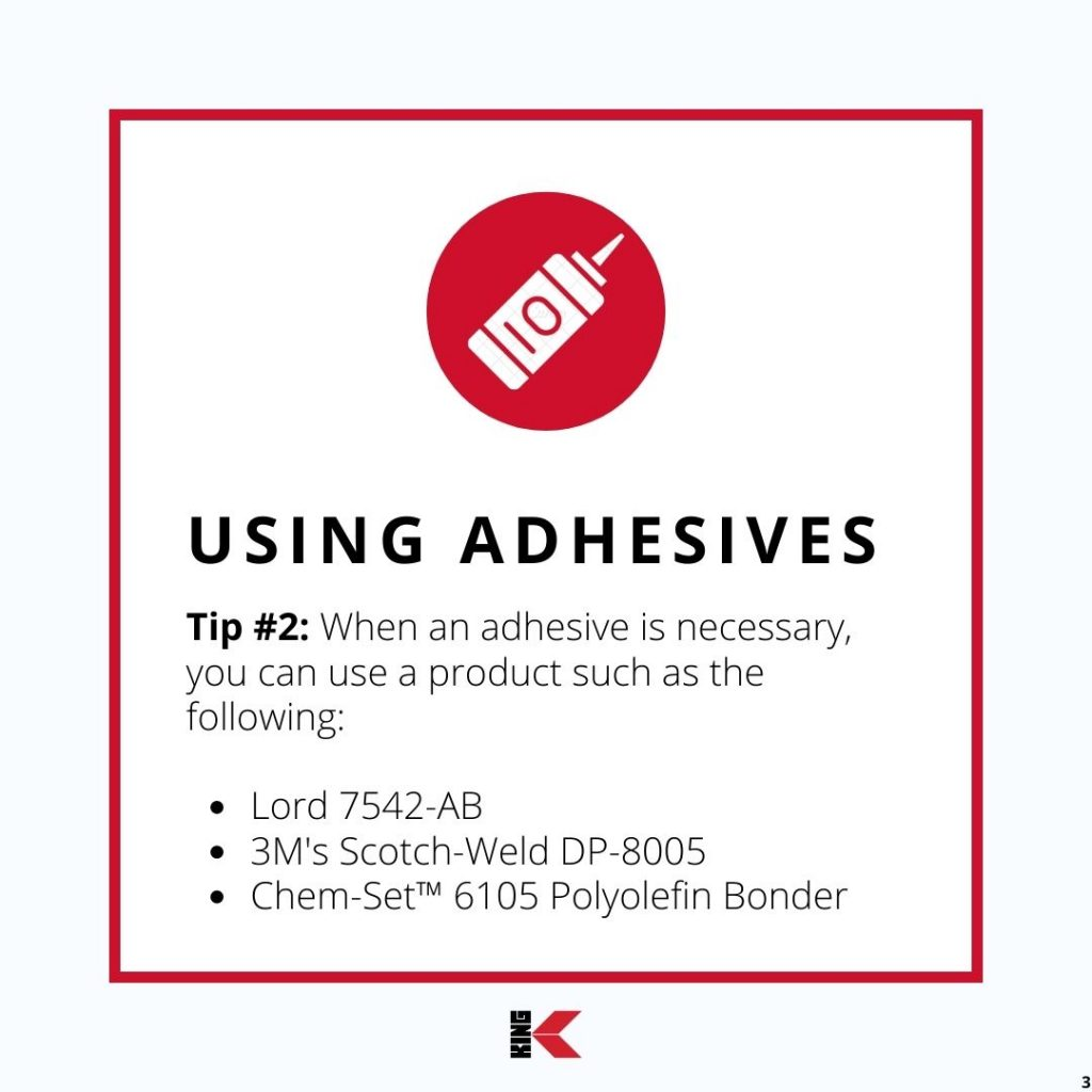 Using Adhesives