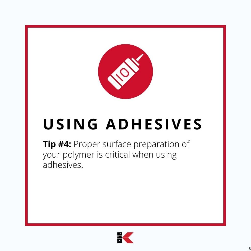 Using Adhesives Tip #4