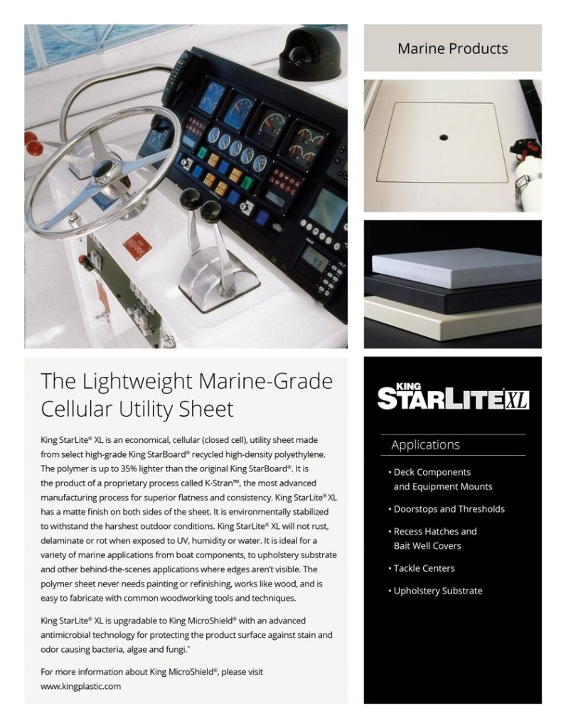 King StarLite® XL Product Literature