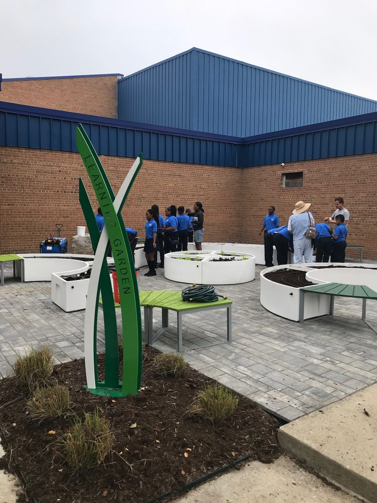 Big Green Learning Garden